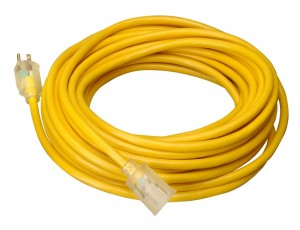 Coleman 100ft 15A Extension cord for generator