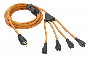 PowerFit PF922530 25ft extension cord