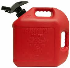 How to Safely use a portable generator gas can