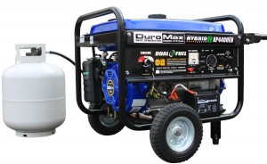 Dual Fuel DuroMax XP4400EH model
