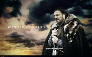 Eddard Stark wished he could get his generator ready for winter!